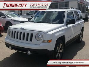 2016 Jeep Patriot High Altitude 4x4 **PST PAID**