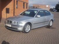 BMW 316 Ti ES COMPACT (03) SERVICE HISTORY, 1 YEARS MOT.