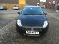 Fiat grand punto black 1.4 engine mot until November 17 full service history recently been service