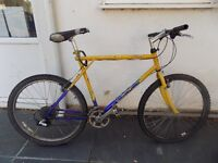 2nd hand bike for sale. Few scratches. £65 and comes with a free padlock and pump.
