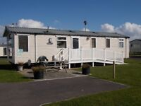 Luxury 3 bed 8 berth static caravan on Haven's Littlesea site Weymouth