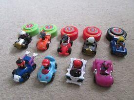 Moshi monster race cars bundle x 9