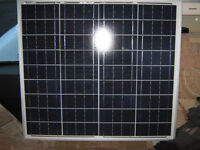 50 W Solar Panel Kit for Caravan, Campervan, Motor Home, Allotment, Stable or Garden Shed