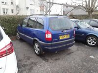 VAUXHALL ZAFIRA DTI FOR SALE OR SWAPS