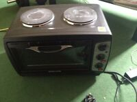 Andrew James Oven with 2 Hobs BRAND NEW
