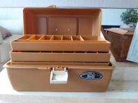 VINTAGE ABU FISHING TACKLE BOX