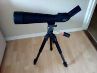 Olivon td 90ed telescope with carbon tripod