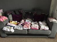 Large bundle 0-3month girls clothes