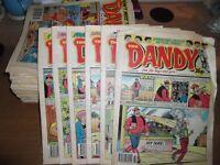 Beano/Dandy Comics 80's & 90's x 317