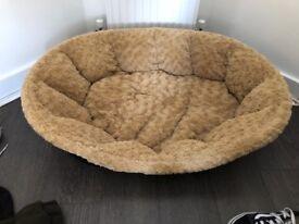 Brand new fluffy dog bed