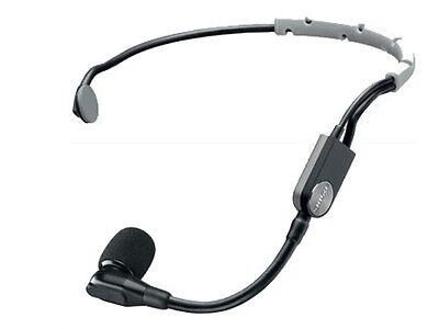 - Shure SM35-TQG Performance Cardioid Condenser Headworn Microphone with TA4F Con