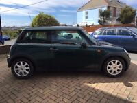 Mini one, 1.6 lt petrol, A fab little car. Needs a new gearbox hence price.