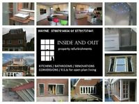 BUILDER / RSJs / CHIMNEY BREAST REMOVAL / LOFT CONVERSIONS / EXTENSIONS/ BATHROOMS /WETROOMS /