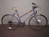 "Ladies/Womens Classic/Vintage/Retro Peugeot Premiere 22.5"" Commuter/Town/Hybrid Bike (will deliver)"