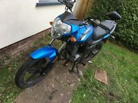 For sale spares or repair sinnis st 125 2014 plate