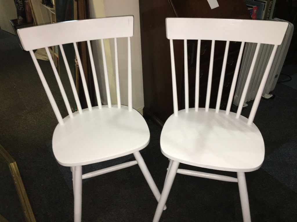 Occasional Bedroom Chairs Nice Pair Of White Solid Country Kitchen Style Occasional Bedroom