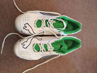 Puma 'Cell' Cricket Spikes - Size 9