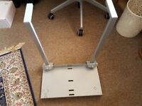 Computer Tower Under Desk Holder From Ikea