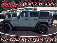 2015 Jeep WRANGLER UNLIMITED Willy's edition, 4x4, Uconnect, har