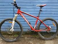 Cannondale Hydraulic brakes mountain bike