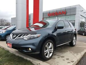 2011 Nissan Murano LE, BOSE, LEATHER, HEATED FRONT/REAR SEATS