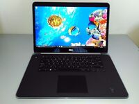 DELL XPS 15 - ULTRA 4K - CORE i7 - TOUCH SCREEN - 16 GB RAM - NVIDIA - SSD - WARRANTY - DELIVERY