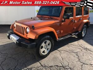 2011 Jeep WRANGLER UNLIMITED Sahara, Automatic, Leather, 4x4