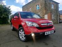 2008 **MILANO RED** Honda CRV ES 2.2 I-CDTI (6SPEED) F/S/H, FULL MOT!