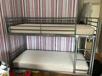 Kids bunk beds and mattresses brand new condition never been used