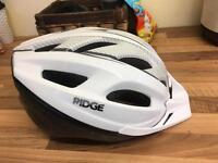 Ridge adult bike helmet