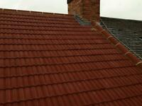 Roofing service, roofer, flat roof, GRP, single ply, Tiling, Slating, New roofs, SFG, PVC guttering.