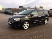 2010│Chrysler Grand Voyager 2.8 CRD Limited 5dr│1 Former Keeper│1 Year MOT│Sat Nav│Leather Seats
