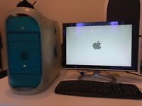 "Power Mac G3 + 19"" lcd monitor, mouse and keyboard"
