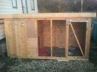 Dog kennel 8ft x 4ft