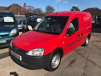 2003/03 VAUXHALL COMBO 1.7 DUAL FUEL,EXCELLENT CONDITION,RED,NO VAT TO PAY,LOOKS AND DRIVES WELL