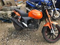 KEEWAY RKV 125cc cheap not Honda not Yamaha not Suzuki