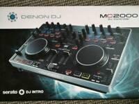 Denon MC2000 DJ Controller with Serato