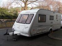 Compass Liberte Four Berth Touring Caravan Includes Motor Mover