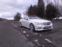 2012 Mercedes E350 convertible cdi FSH