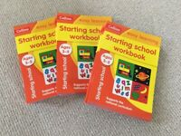 25 Collins Easy Learning Starting School Workbook 3-5 years