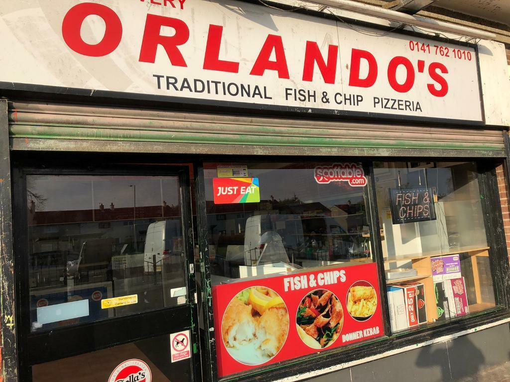 Fish And Chips Orlandos In Milton Glasgow Gumtree