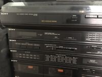 Sony fully Automatic stereo , turntable PS-LX45P, Tape, cd / Tuner Phono function
