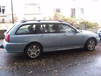 2002 ROVER 75 DIESEL BMW 2.0 ESTATE MOT TOW BAR POSS PART X