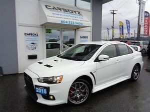 2015 Mitsubishi Lancer Evolution GSR S-AWC, Like New!!