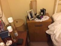 Two Bedside cupboards/Tables