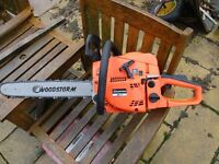 woodstorm chainsaw 52cc new in box unopened £69