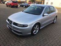 2003 Seat Leon Cupra Turbo 20v...New MOT...FSH...3 Owners from New...122,000 Miles...P/X Considered
