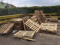 Waste Wooden Pallets - Useful for refurb / fire wood / DIY projects etc - Free!