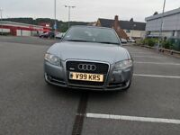 Audi A4 S Line Convertible 2.0 litre diesel, private plate, low mileage, leather seats