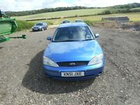 FORD MONDEO 2.0 LX DIESEL WITH NEW 12 MONTHS MOT